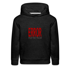 Oops There Is Something Missing! - Kids' Premium Hoodie