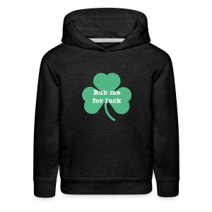 Rub me for luck - Kids' Premium Hoodie