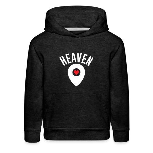 Heaven Is Right Here - Kids' Premium Hoodie