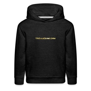 TROLLIEUNICORN gold text limited edition - Kids' Premium Hoodie