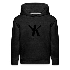 Young Kevino Official Logo (Black) - Kids' Premium Hoodie