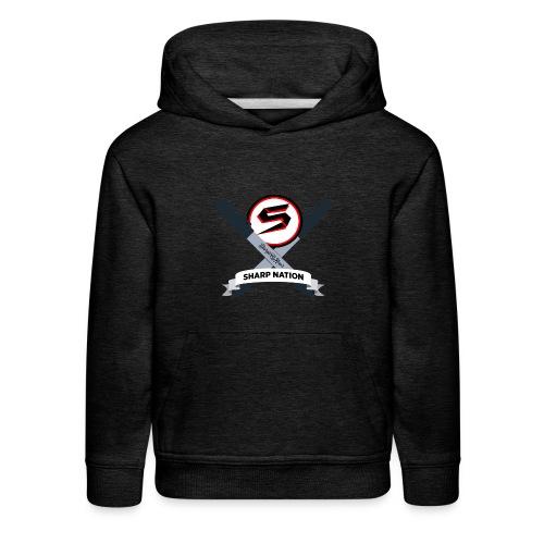 Sharp Nation Shirt - Kids' Premium Hoodie