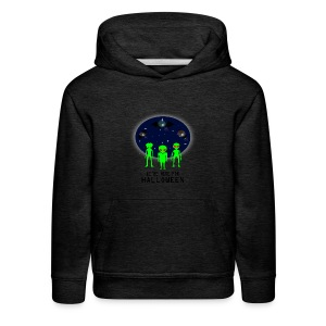 WE'RE HERE FOR HALLOWEEN - Kids' Premium Hoodie