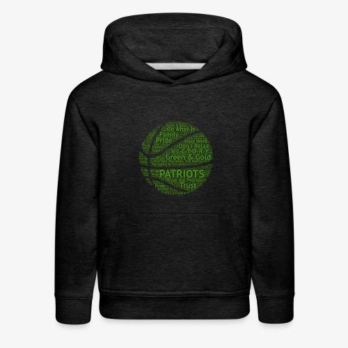 Pats Basketball Green - Kids' Premium Hoodie