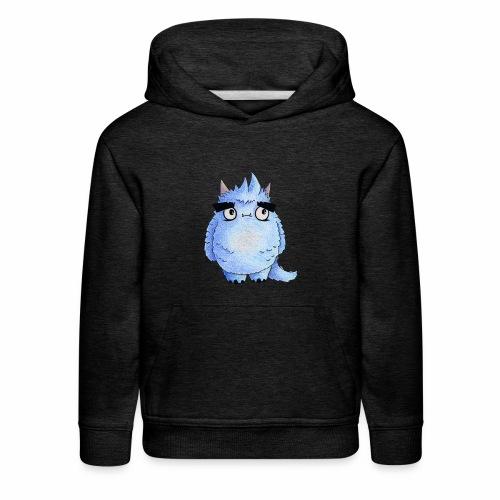 Little Blue Monster - Kids' Premium Hoodie