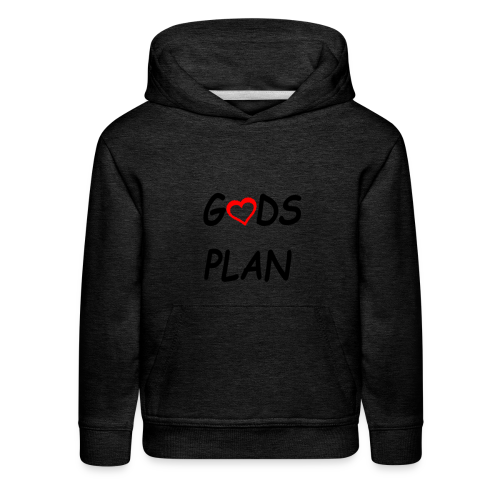 Gods Plan too - Kids' Premium Hoodie