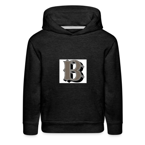 The Baseball jacket. - Kids' Premium Hoodie