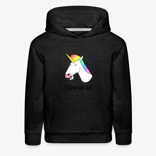 Unicorn AF - Kids' Premium Hoodie
