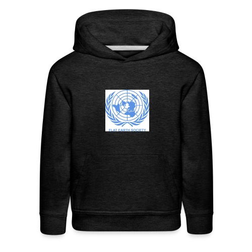 Flat Earth Society - Kids' Premium Hoodie