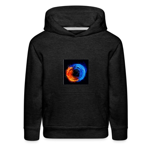 swirling fire and water 310265 - Kids' Premium Hoodie