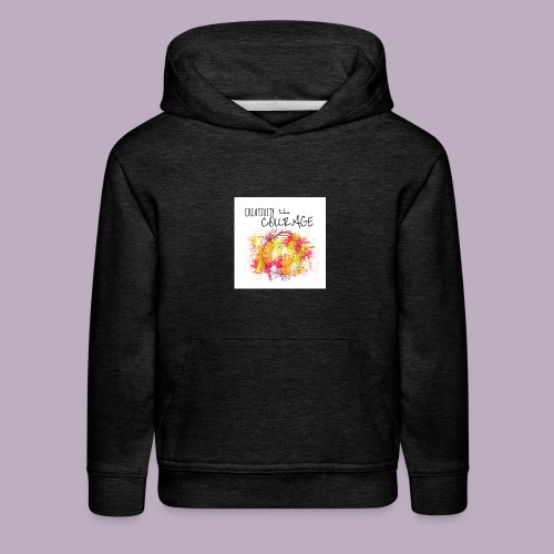 Creativity takes Courage - Kids' Premium Hoodie