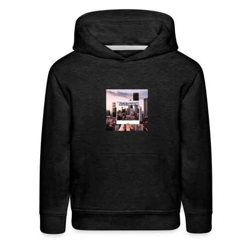 Skyline Poloraoid series - Kids' Premium Hoodie