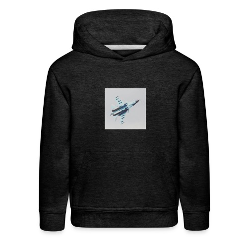 Bomber Flyer - Kids' Premium Hoodie