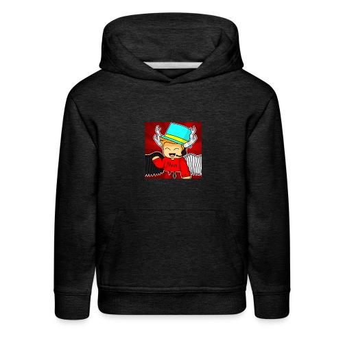 MarsPlayz Logo Merch - Kids' Premium Hoodie