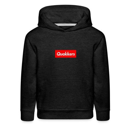 Quakkers White Supreme - Kids' Premium Hoodie