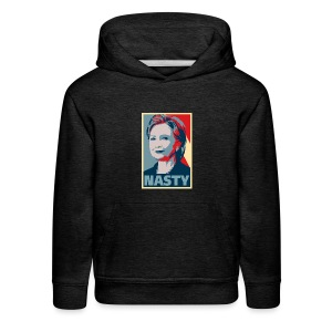 Hillary Clinton A Nasty Woman? Vote Nasty In 2016. - Kids' Premium Hoodie