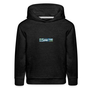 blade squad merch colab with surp - Kids' Premium Hoodie
