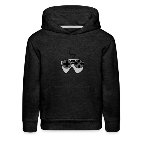 Video Game Controller Logo - Kids' Premium Hoodie