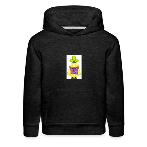 Little ghost going trick or treating - Kids' Premium Hoodie