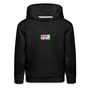 Rainbow Tiger Design Cases - Kids' Premium Hoodie