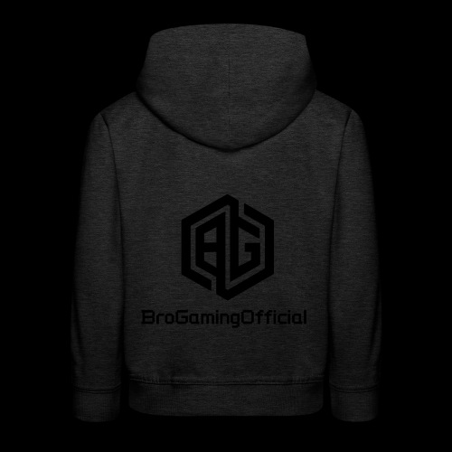 BroGamingOfficial Merch - Kids' Premium Hoodie