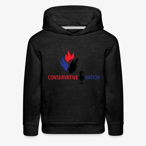 Conservative Nation Double Eagle Collaboration - Kids' Premium Hoodie