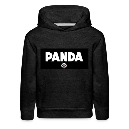 PandaSavageLogo - Kids' Premium Hoodie