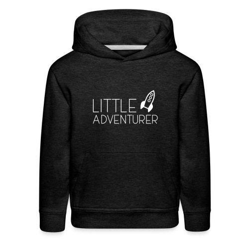 Little Adventurer Rocket t-shirt - Kids' Premium Hoodie