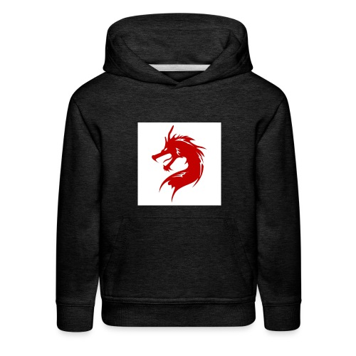 team fire dragon - Kids' Premium Hoodie