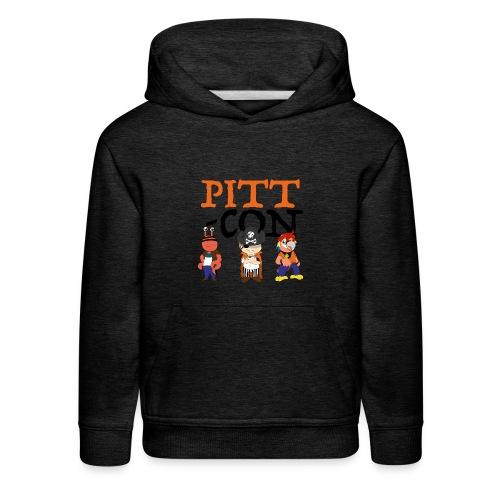 PittCon 2017 Pirate Squad Logo - Kids' Premium Hoodie