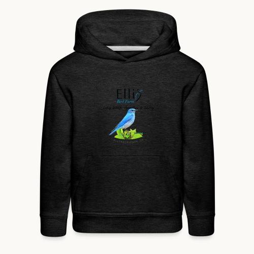 Ellis Bird Farm - Carolyn Sandstrom - Kids' Premium Hoodie