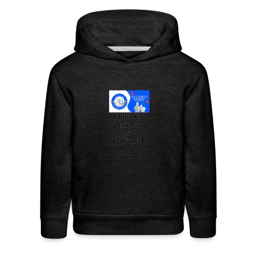 Character, Business & Skill Level - Kids' Premium Hoodie