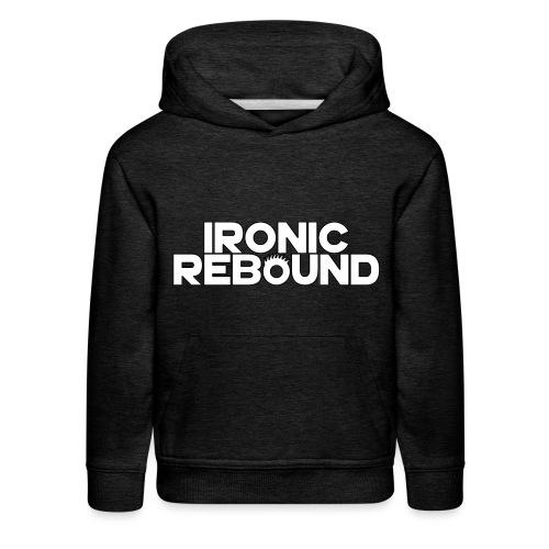 ironic rebound 4 png - Kids' Premium Hoodie