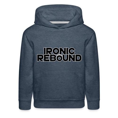 ironic rebound 5 png - Kids' Premium Hoodie