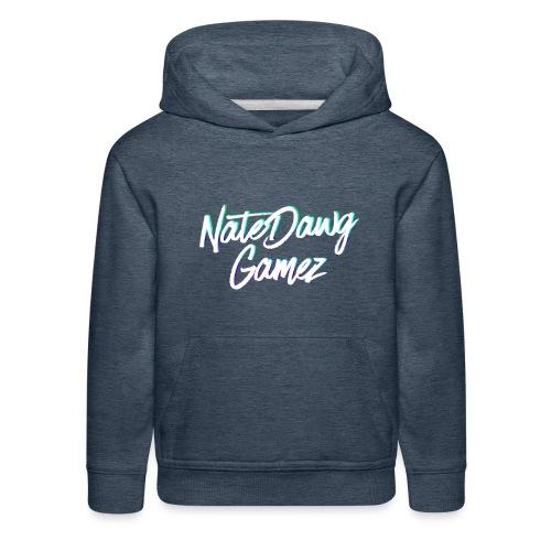 Newel Black Painted tp Nate- - Kids' Premium Hoodie