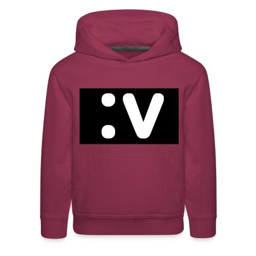 LBV side face Merch - Kids' Premium Hoodie