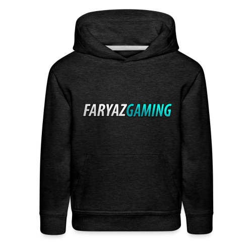 FaryazGaming Theme Text - Kids' Premium Hoodie