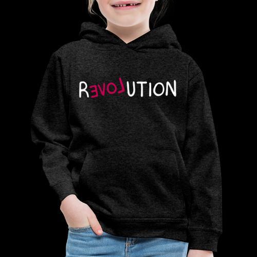 re-LOVE-ution - Kids' Premium Hoodie