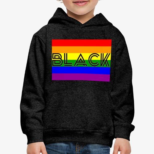 Black LGBTQ - Kids' Premium Hoodie