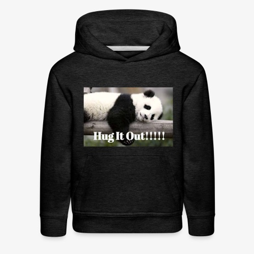 Hug It out Panda Merch - Kids' Premium Hoodie