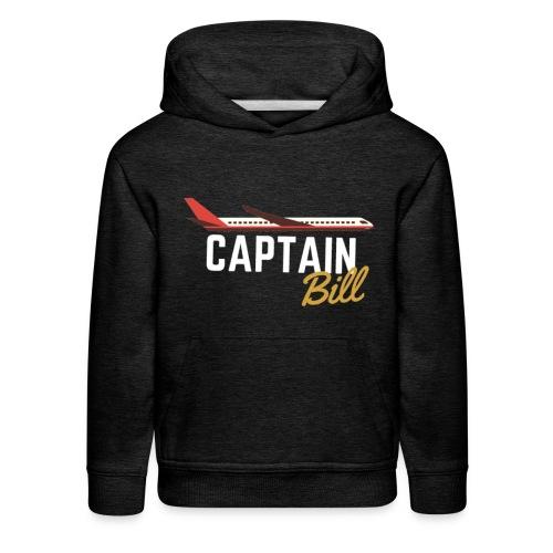 Captain Bill Avaition products - Kids' Premium Hoodie