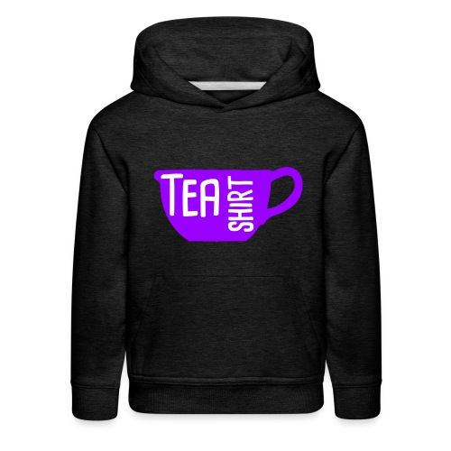 Tea Shirt Purple Power of Tea - Kids' Premium Hoodie