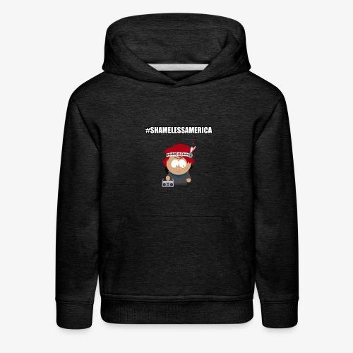#ShamelessAmerica - Kids' Premium Hoodie