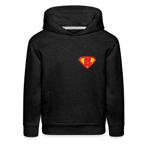 Super B letters - Kids' Premium Hoodie