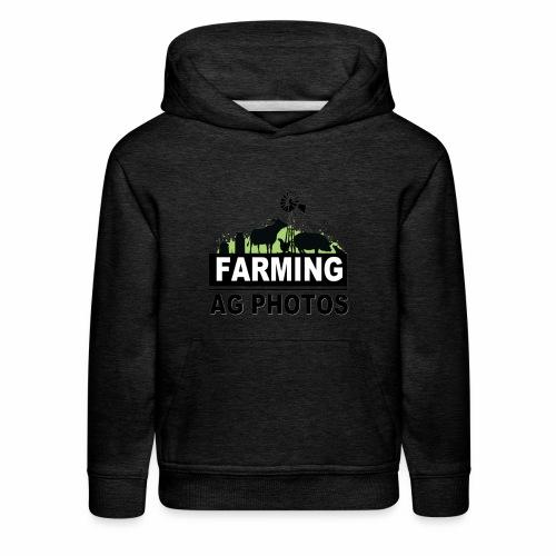 Farming Ag Photos - Kids' Premium Hoodie