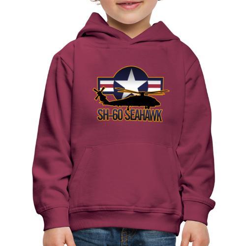 SH 60 sil jeffhobrath MUG - Kids' Premium Hoodie