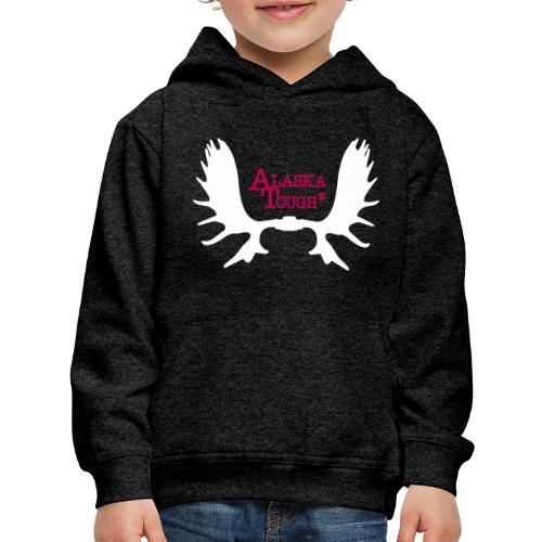 Moose Antler Logo SS - Kids' Premium Hoodie