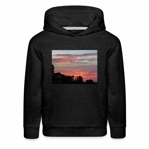 Sunset of Pastels - Kids' Premium Hoodie
