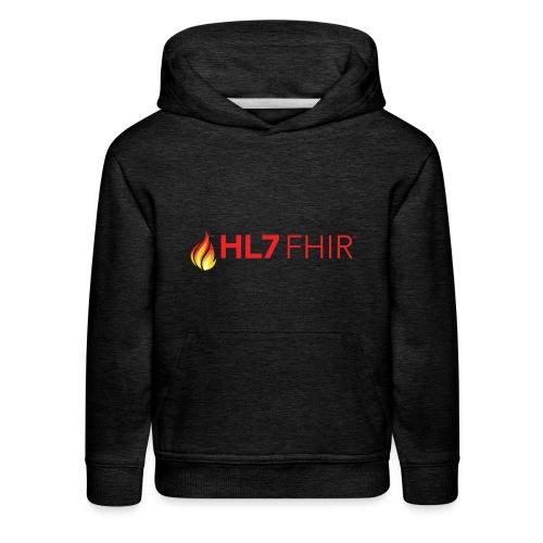 HL7 FHIR Logo - Kids' Premium Hoodie