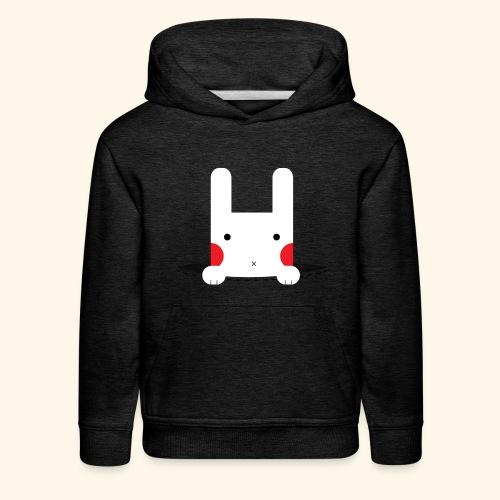Pocket Bunny - Kids' Premium Hoodie